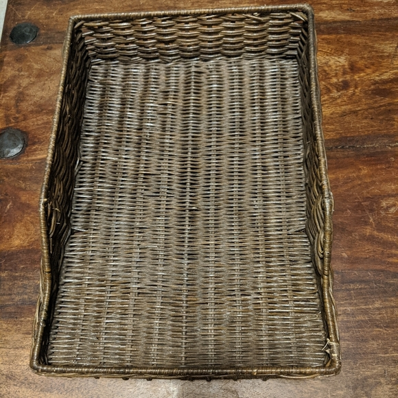 Other - Wicker paper tray